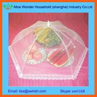polyester umbrella kitchen food cover