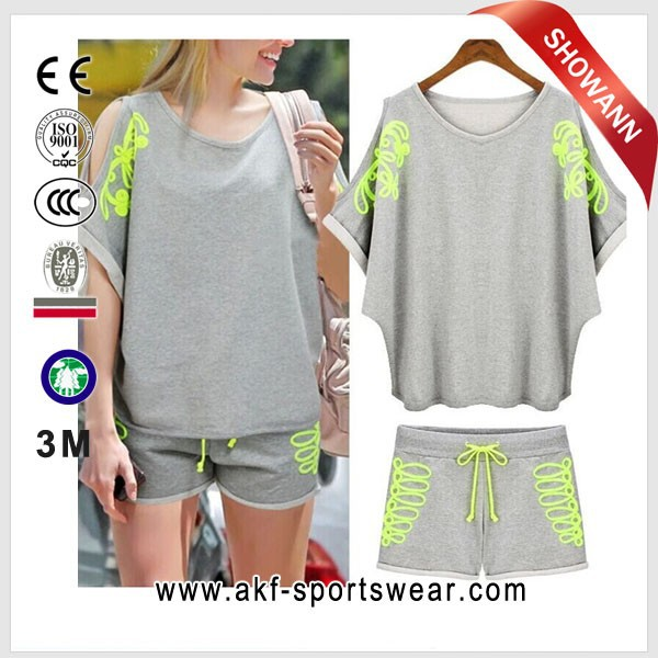 set women skirt suit/ sport suit women/ sport suit is female