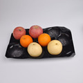 39*59cm 15LB Black Color Disposable Blister PP Apple Packing Plastic Container Fruit Liner for Storage with High Quality