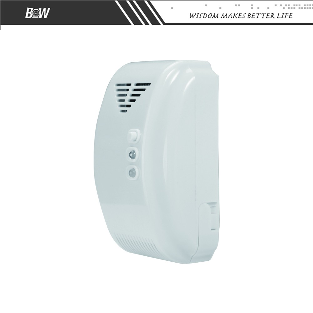 carbon monoxide wireless detector co co2 gas wifi sensor for security