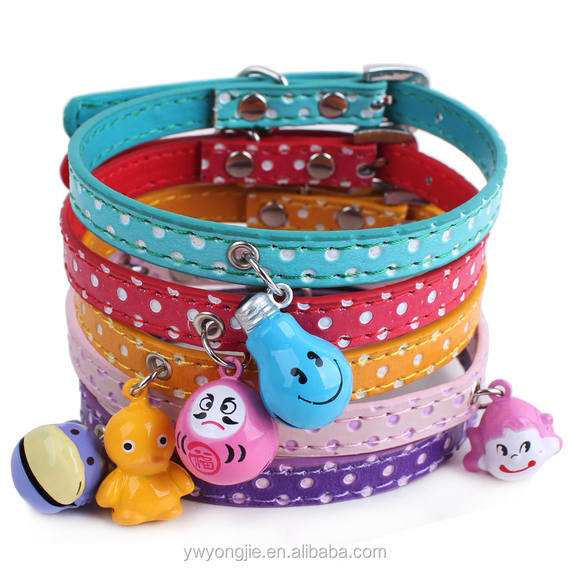 PU Pet Collar Leash Retractable Dog Leash