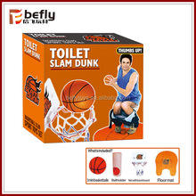 Best selling toys 2014 toilet basketball funny toy