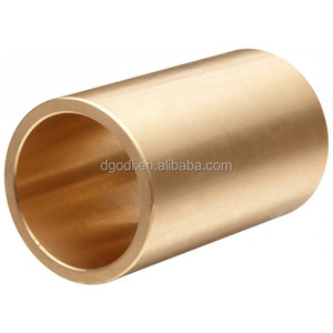 Factory price custom size small round tube thick wall brass bushing for sale
