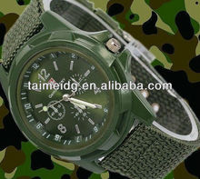 Fashion lovely high quality gemius army watch