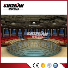 Cheap price transparent glass stage/acrylic platform stage/round stage for wedding