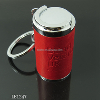 novelties goods from china EURO shipping trolly holder keychain