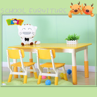 High Quality Cheap Kids Palstic Round Reading Table And Chairs