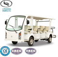 CE Approved 14 Seats Electric Tourist Car Sightseeing Bus
