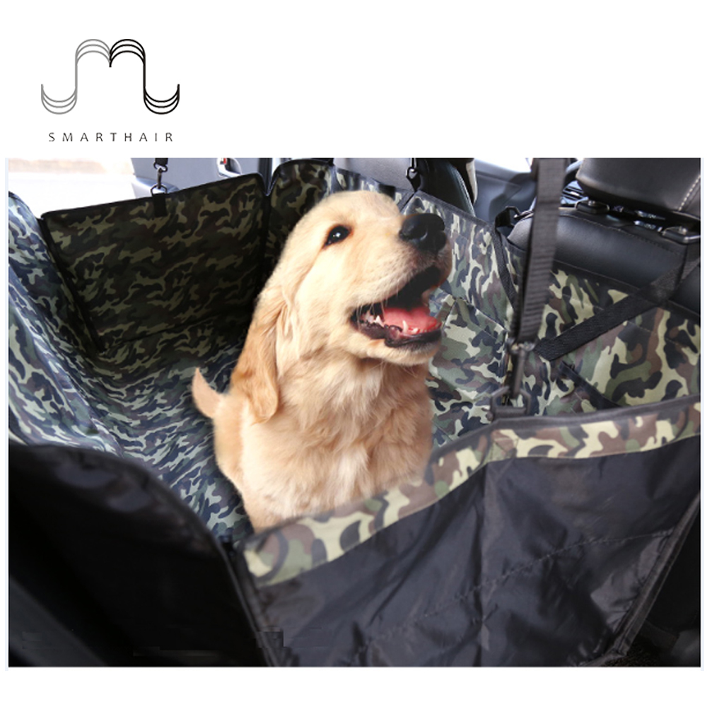 SMARTHAIR SMCM01 Heavy Duty 600D Camo Oxford Fabric Dog Pet Car Seat Covers