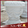 Outdoor decorative stone big flower pots for garden