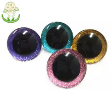 18mm Colored Sparkle Eyes Handmade Toys Plastic Animal Doll Eyes