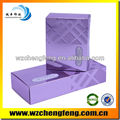 Cosmetic paper boxes with silver aluminized paper