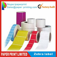 "4"" x 6"" Zebra 2844 Eltron Direct Thermal Shipping Printer 500 Labels"
