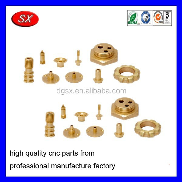 customized machinging part for brass agricultural components ,CNC Turning Parts for electric motor