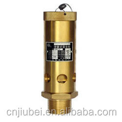 Screw air compressor Pneumatic Safety Valve High Pressure Safety Relief Valve