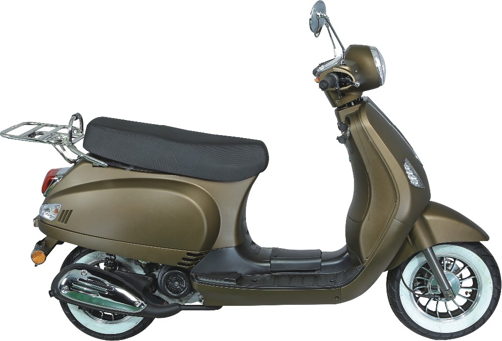 Jiajue 50CC EEC hot sale popular retro gas scooter