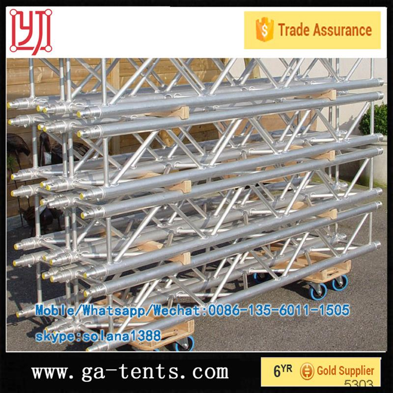 Good welding square stage truss for sale/truss structure