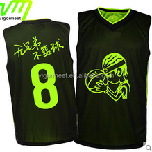 Hot sell wholesale basketball jersey polyester jersey basketball jersey sets factory price