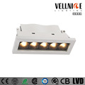 dongguan residentical recessed frameless led linear downlight 10w 15w 20w
