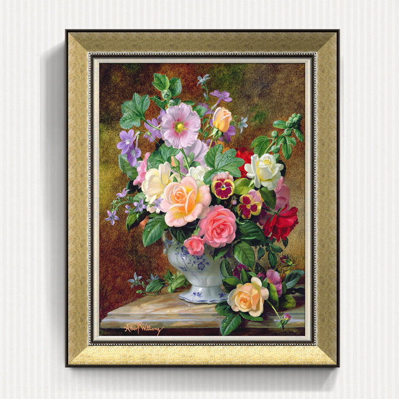 Famous paintings PS Photo Frame with 3D Picture made in Guangzhou