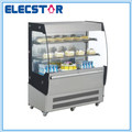 commercial stainless steel open front cake showcase/ display cooler