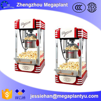 price industrial mushroom hot air popcorn machine for snack food