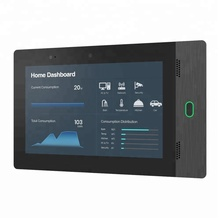 Home Automation 7 Inch Android POE Tablet Customized Temperature/Humidity Sensor