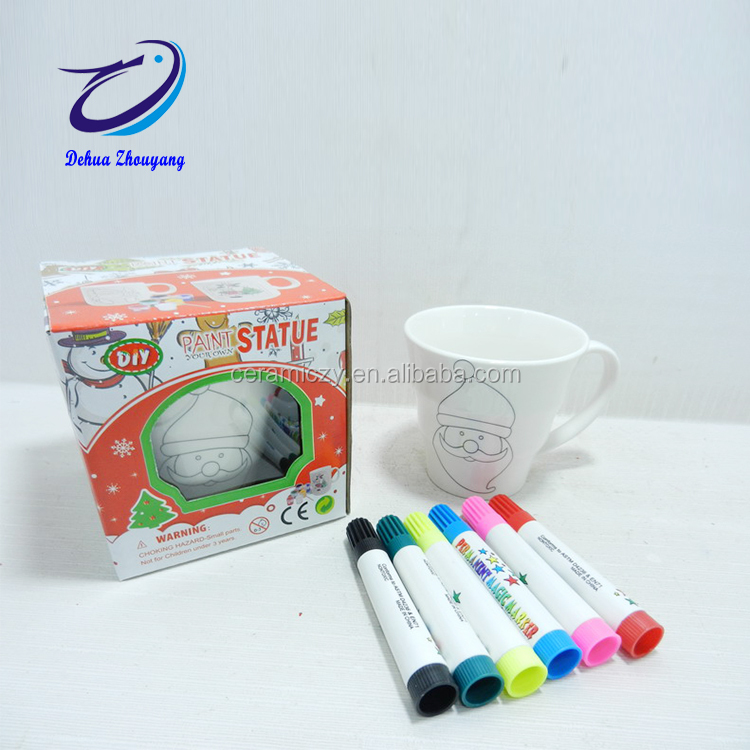Color DIY Painting ceramic paint pens food safe for mugs