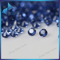 Semi precious cz lab created tanzanite