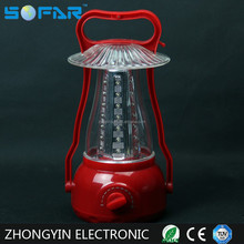 Yajia Plastic 42 LED Lantern 3*D Battery Rechargeable Camping Light