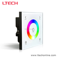 Single Zone Wired Wall Mounted LED Touch control Panel Controller D4