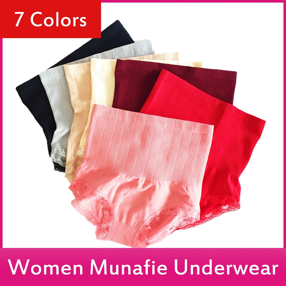 2017 New Women underwear Japan Munafie Fashion Sexy briefs Ladies In Panties 7 Colors 47g <strong>111</strong>