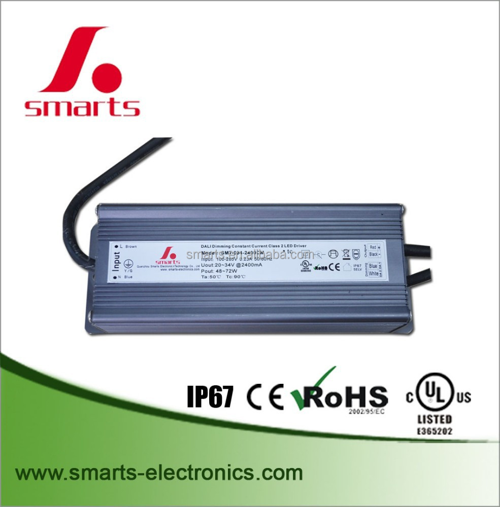 2100ma 79w 80W Dali dimmable LED Driver