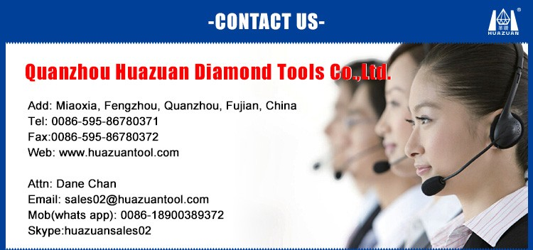 Normal flat type segment diamond hole saw drill bits