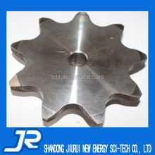 2015 China hot sale stainless steel 304 double pitch type B roller chain sprocket