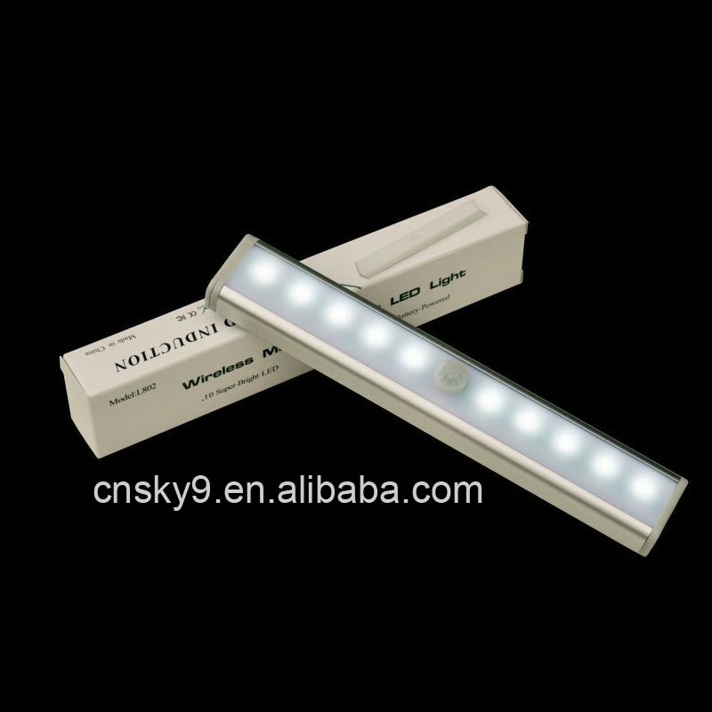 3W Surface Mounted Circular LED Bar/Bookcase/Wardrobe/Cabinet Light motion sensor led tube light