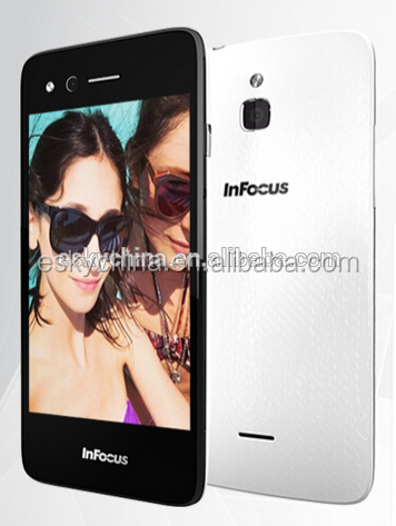 Foxconn Infocus M2 4G LTE Smartphone Quad Core MSM8926 Android 4.4 Mobile Phone 4.2 Inch mobile phone
