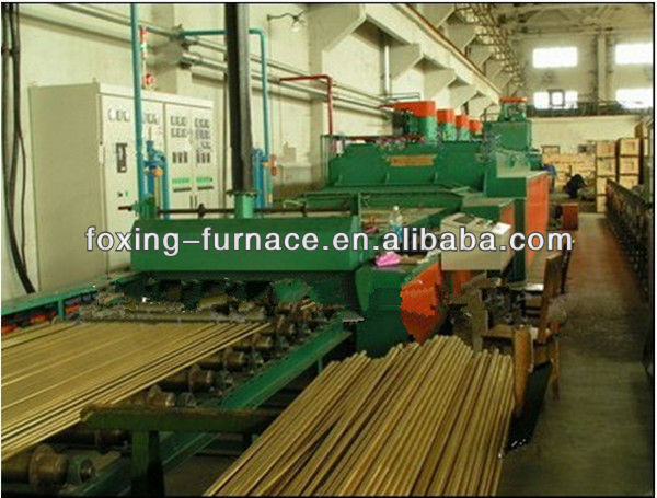 China supplier copper tube annealing furnace