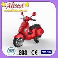 Children electric motorcycle Alison T06914 used vespa electric bike with seat