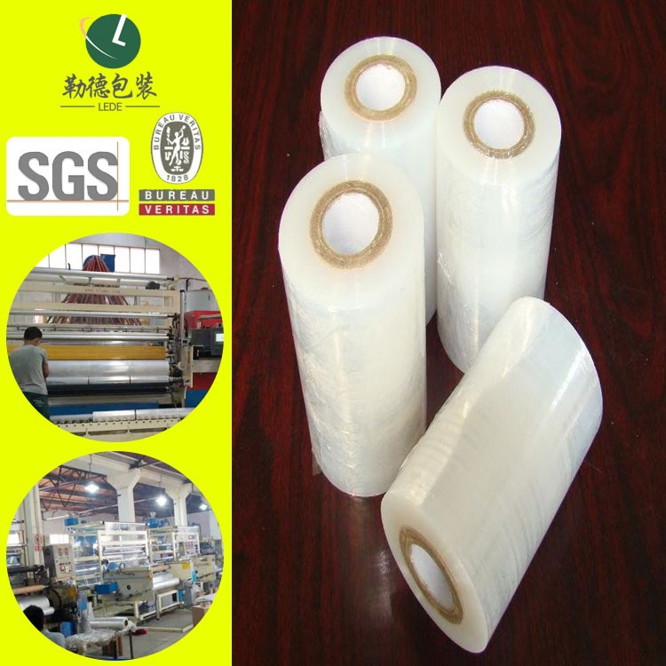 Soft Hardness Stretch Film transparency plastic film
