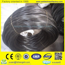 high quality 25kg/coil 16 gauge soft black annealed binding wire