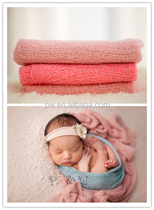 Free Shipping Baby Swaddle Newborn cocoon Rayon Strech Wrap Baby Girl Baby Boy Photos
