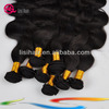 Natural Color AAAAA Grade Raw Material Unprocessed Wave Human Brazilian Hair Extension