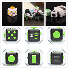 2017 New fidget cube camouflage fidget spinner decompression anxiety toys