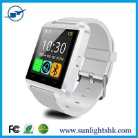 1.44 inch touch screen display U8 smart wrist watch cell phone 2016 bulk stock new models