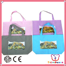 GSV ICTI Factory promotion and elegant no laminated non woven bag