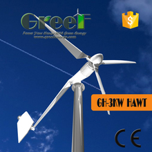 On Grid system for low-power domestic consumers in cities camping wind generator 3kw windmill generator