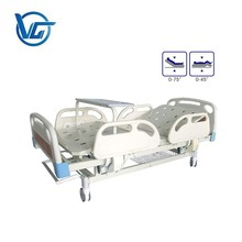 High quality 2 cranks manual hospital beds two cranks
