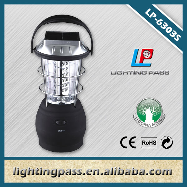 outdoor rechargeable camping led solar lantern