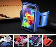 Adjustable Sports Strap Armband Pouch Case Jogging Arm Band Holder Phone Cover for Samsung Galaxy S5 i9600